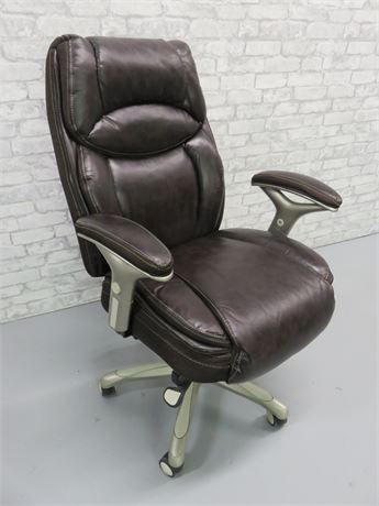 Serta SmartLayers™ Benson Leather Executive Chair