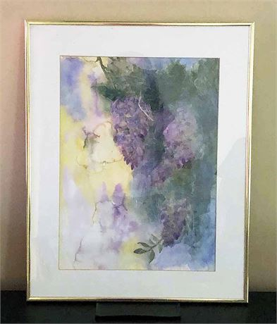 Watercolor Framed  Painting