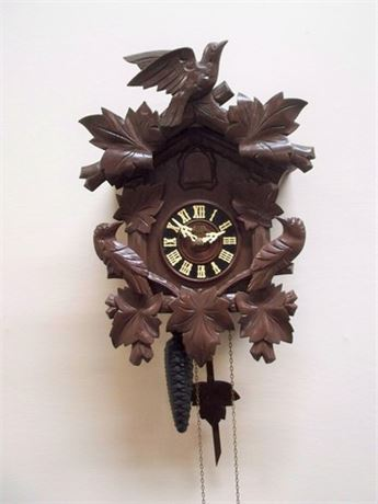 VINTAGE MI-KEN - JAPAN CUCKOO CLOCK