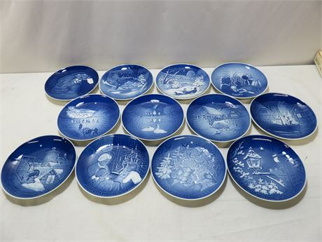 Vintage 1963-1983 BING & GRONDAHL Christmas Plate Collection