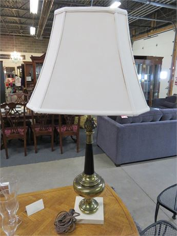 Brass/Marble Table Lamp