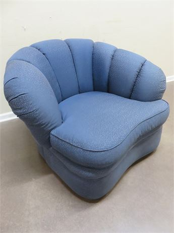 Contemporary Swivel Club Chair