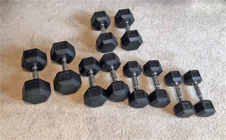 York Hex Barbell Lot