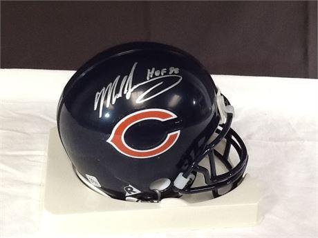 Mike Singletary Autograph Mini Helmet