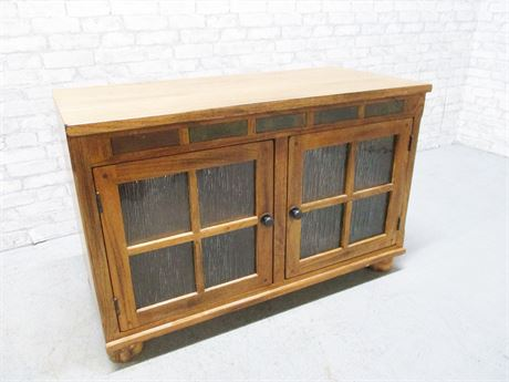 MISSION-STYLE CABINET WITH DOORS