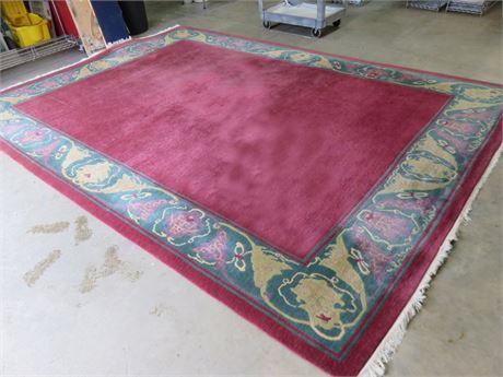 10 X 14 ft. TUFENKIAN 100% Wool Area Rug