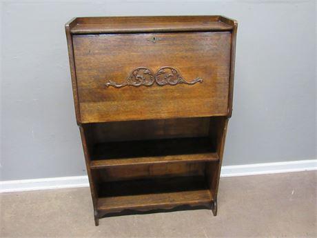Vintage Drop-Front/Secretary Desk