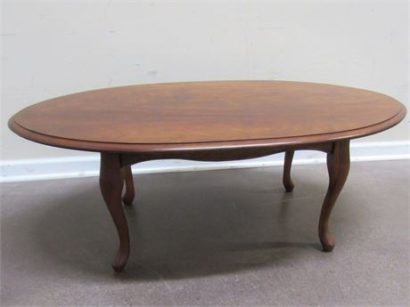 CHERRY COFFEE TABLE - ELLSWORTH WILLOUGHBY OHIO