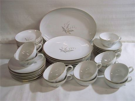 KAYSON'S MID CENTURY CHINA - GOLDEN RHAPSODY - 1961 - 48 PIECES