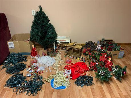 Large Christmas/Holiday Decor Lot