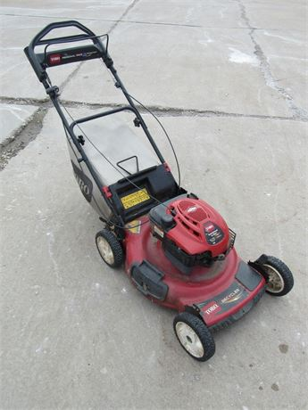 "TORO PERSONAL PACE SELF-PROPELLED 22"" REAR DRIVE RECYCLER MOWER"