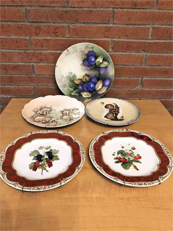 Antique & Vintage Display Plate Collection