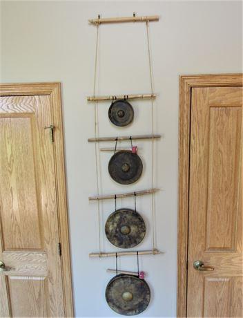 Vintage Timekeeper 4-Tier Wall Art