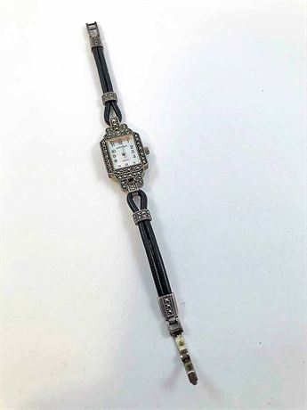 Judith Jack Sterling Wrist Watch
