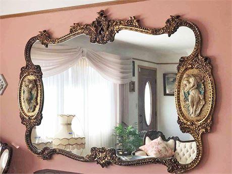 Vintage Louis XV Rococo Mirror