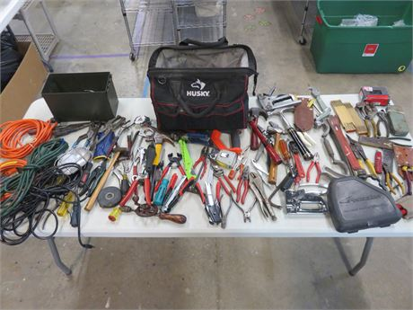 Assorted Hand Tools and More!