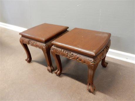 Ornate Side Table Set