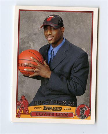 DWYANE WADE ROOKIE CARD 2003-04 TOPPS