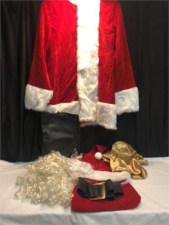 Adomi Santa Costume