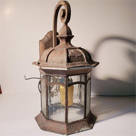 Vintage Exterior Wall Lantern