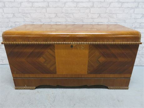 Vintage 1947 LANE Waterfall Cedar Chest