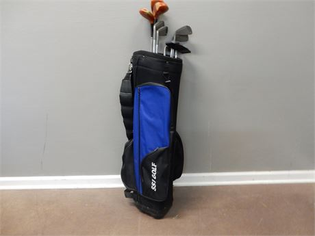 SSI Golf Bag and Golf Clubs
