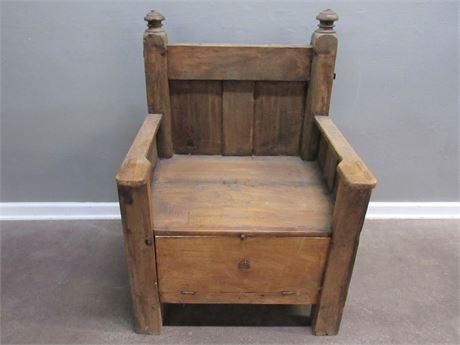 Antique Deacon's Chair