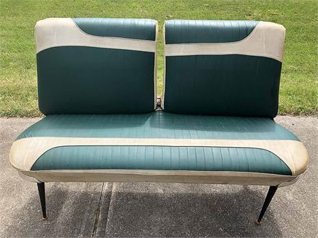 Vintage Car Seat Couch