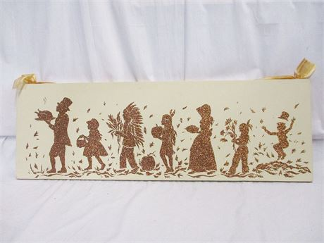 THANKSGIVING WALL ART SIGNED BY THE ARTIST