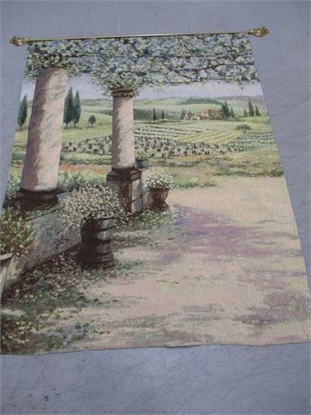 BEAUTIFUL VINEYARD TAPESTRY
