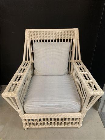 Vintage Arhaus Wicker Chair