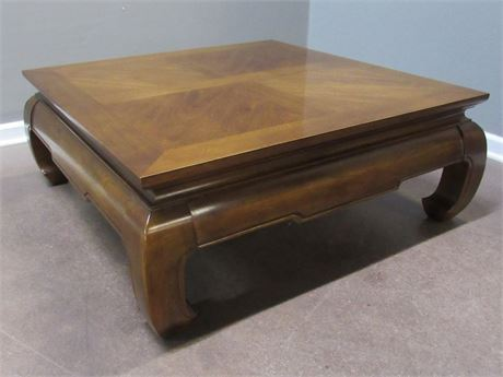 Lite Oriental/Asian Style Square Coffee Table