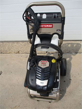 CRAFTSMAN PRESSURE WASHER 580.752100