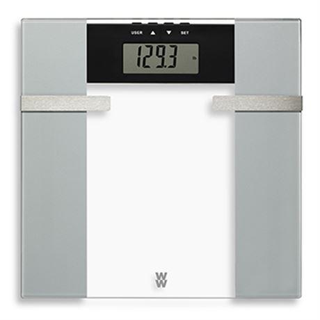 WEIGHT WATCHERS Body Analysis Glass Scale