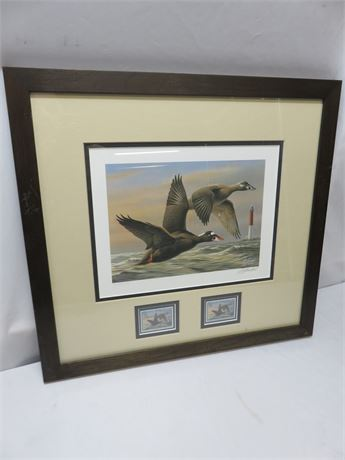 WILHELM GOEBEL U.S. Department of Interior Conservation Stamp A/P Lithograph