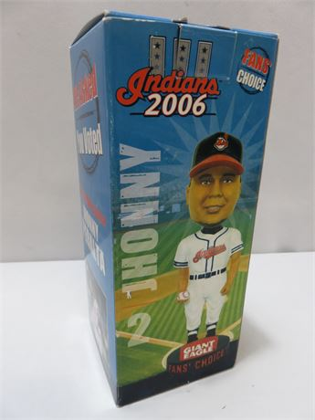 2006 Cleveland Indians JHONNY PERALTA Fans' Choice Bobblehead