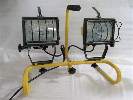 Halogen Portable Double Work Light