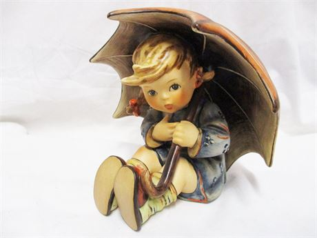 "M.I. HUMMEL 1957 ""UMBRELLA GIRL"" 152/0 B SIGNED"