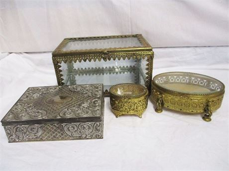 LOT OF JEWELRY/DISPLAY BOXES