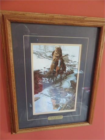 """BEV DOOLITTLE """"Spirit of The Grizzly"""" Lithograph"""