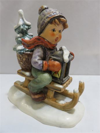 "1971 M.I. HUMMEL ""Ride Into Christmas"" Figurine #396"