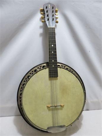 Original BARNABY (Linn Sheldon) 8-String Banjo