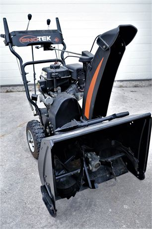 """Arien 24"""" Snowblower with manual"""