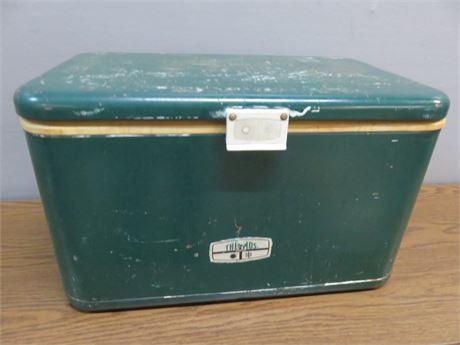 Vintage Mid-Century THERMOS Metal Cooler