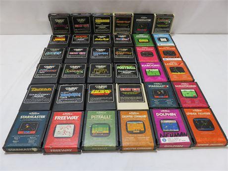 Vintage Atari Game Lot