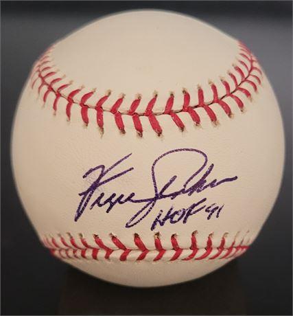 Fergie Jenkins Chicago Cubs HOF Inscribed Signed Officially Licensed MLB Basebal