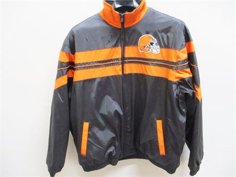 XXL CLEVELAND BROWNS JACKET