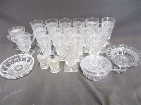 LOT OF VINTAGE GLASS FEATURING CAPE COD