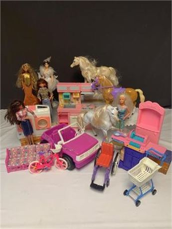 Lot of Misc. Barbie Accessories