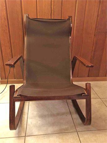 Sling Wood Side Chair